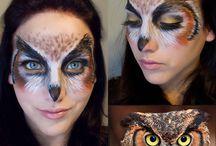 Face paint  /  Halloween
