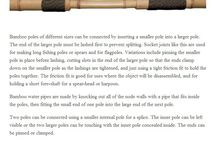 Bambu - Técnicas Construtivas