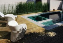Modern Pool Designs We Love / by Fence Workshop™
