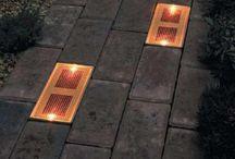 solar lights bricks