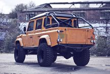 Land Rover Defender-customized