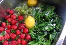 fruit and veggie juice