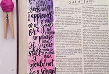Bible Journaling - Galations