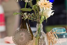 Table Numbers / Including decorative table numbers brings nice color and intrigue to your event! Here are some interesting ideas that you could use for your celebration!