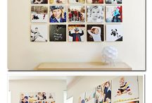 Wall Photo Design & Display / Wall photo display design ideas and products. / by Dawn Lopez
