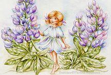 Fairy motives - Flower Fairies