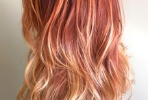 Orange Hair Ideas / Natural & Fantasy Orange hair color styles and ideas from salons, hair stylists and beauty professionals who use Vagaro to manage their business. Orange Hair colors can vary from a natural looking strawberry blonde, light red and ginger to a bold, bright, light, creamy, orangesicle, creamsicle, coral, peach, burnt orange, tangerine, mandarin, amber, fire, copper, salmon, neon or dark orange fantasy hair color.