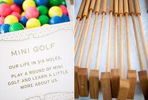 Golf Theme Wedding / by Bellus Designs