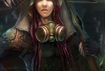 Personnages steampunk