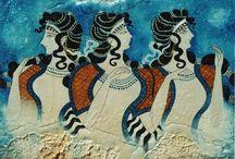 Minoan and Roman art