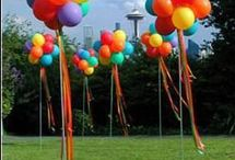 Party: Rainbow Party / If you want o have a colored theme party, rainbow, crayons, candy...etc. this is a fun group of ideas!  / by Enza Ketcham