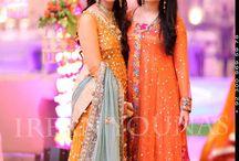 Mehndi or Mayun dress