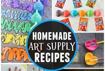 PreK DIY Art Supplies