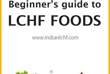 Beginner's guide to LCHF foods