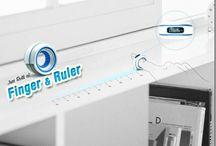 Finger Ruler concept