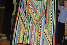 Strippy / Made with strips / by Sue Hook