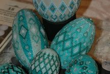 Koralikowe jajka