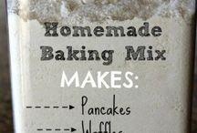 home made baking mixes