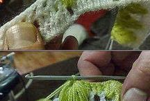 crochet / Cortina