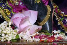 ISKCON Dellhi - Parthasarathi Feet / Beatifull Wallpaper of Sri Parthasarathi Feet of ISKCON Dellhi maid by ISKCON Desiretree