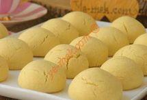 mısır unlu kurabiye tarifi lezzetli