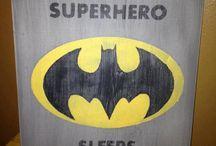 Batman kids room