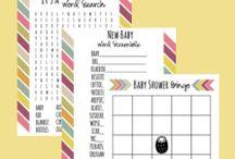 Shower Ideas / Baby showers starter packs