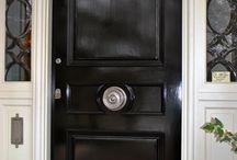 Centre Door Knob