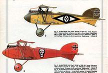 ww1 aircraft colour scheme