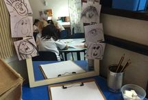 School: Drawing and Writing table