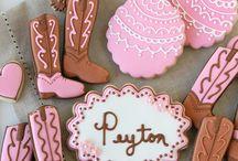 Sugar cookies/ cowboys/ cowgirls