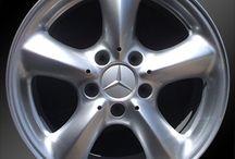 Mercedes Benz / Mercedes Benz wheels. Stock wheels, Factory OEM rims / by RTW Wheels