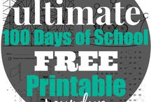 100 Days of School Celebration / Ways to celebrate the 100th day of school for elementary students
