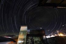 STARS / It is the polestar on my house.