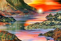 Centelha Divina / O Universo abençoa aos que o reverenciam com respeito e cuidado, para consigo e com o outro. Quem ama a si mesmo, ama seu semelhante e ao lar que os acolhe***