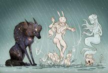 la chica y el lobo