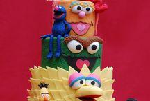 Fancy Cakes-Sesame Street