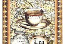 decoupage tea i coffee