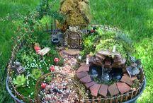 Waterfall Dioramas Miniature