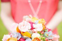 M A R I A G E - bouquets / Idées de bouquets ou compositions florale. Décoration florale pour mariages, anniversaires, fêtes...