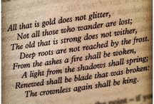 Words from the Wise / Quotes of literary genius from those that will never be transcended