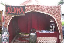 Henna stall ideas
