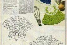 ワンピー編み図