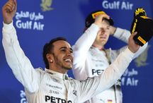 Second Bahrain win for Hamilton as Raikkonen splits Mercedes. / Lewis Hamilton drove to a dominant victory in the 2015 Formula 1 Gulf Air Bahrain Grand Prix, but team mate Nico Rosberg ultimately fell prey to Kimi Raikkonen after a race-long battle with Ferrari.