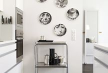 Lina / Fornasetti plates