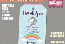 Unicorn Party Ideas and Printables
