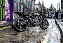 Re-Build / Cafe Racers, Ανακατασκευές, Motorcycle, Μοτοσικλέτες