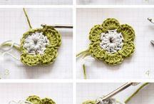 flori crosetate handmade