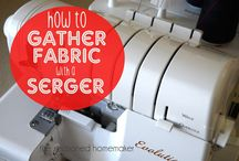 ✄Sewing: SERGER AND COVER HEMMER TIPS