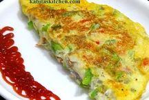 Vegetable Cheese Omelet